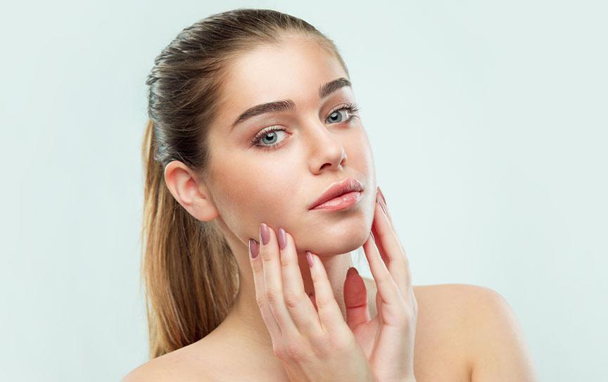 trattamento di ossigenoterapia del volto